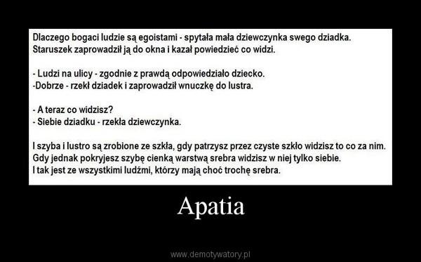 Apatia –