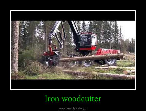 Iron woodcutter –