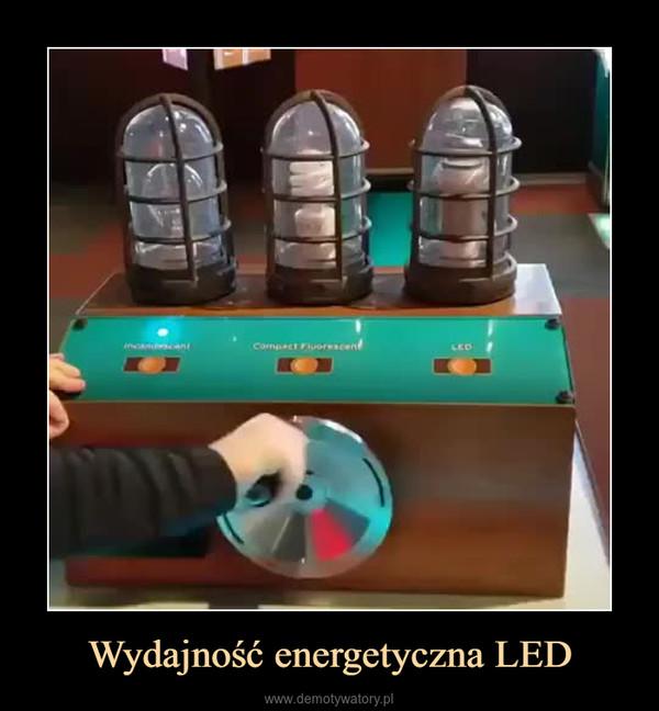 Wydajność energetyczna LED –