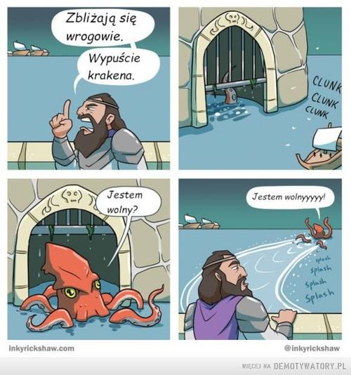 Przygody krakena