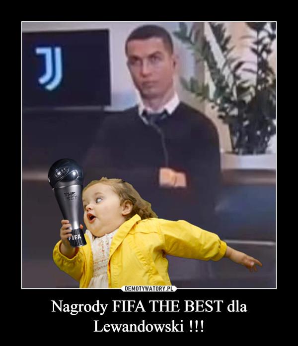 Nagrody FIFA THE BEST dla Lewandowski !!! –