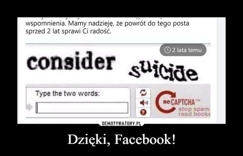 Dzięki, Facebook!