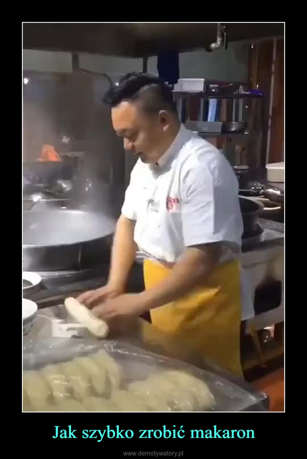 Jak szybko zrobić makaron –