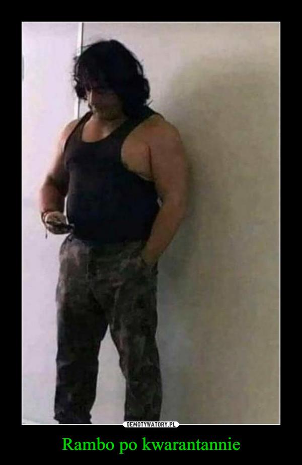 Rambo po kwarantannie –