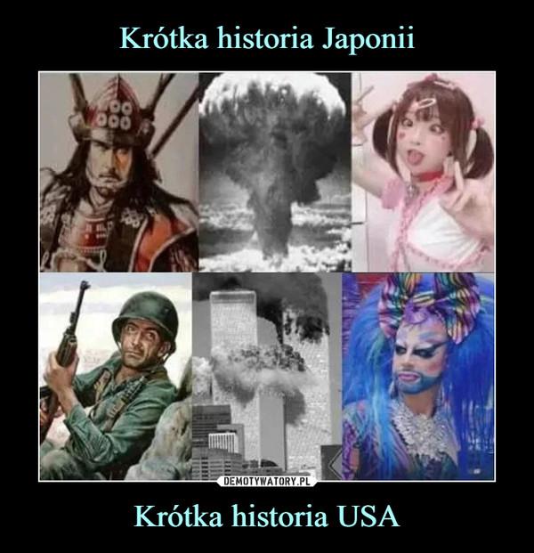 Krótka historia USA –