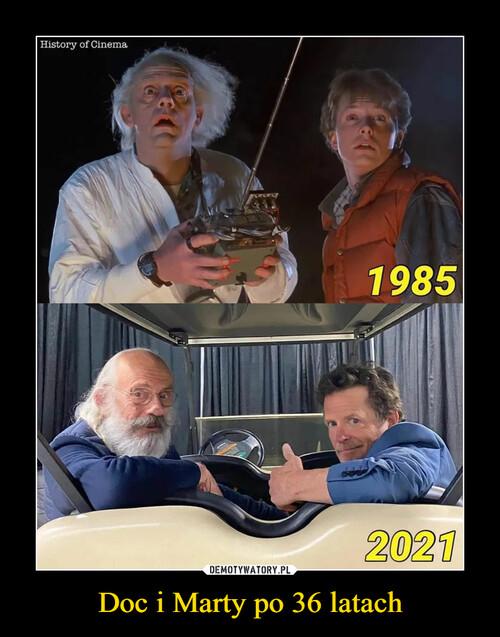 Doc i Marty po 36 latach
