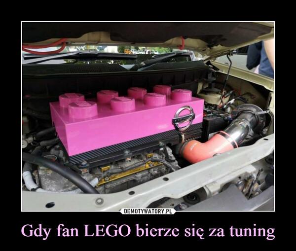 Gdy fan LEGO bierze się za tuning