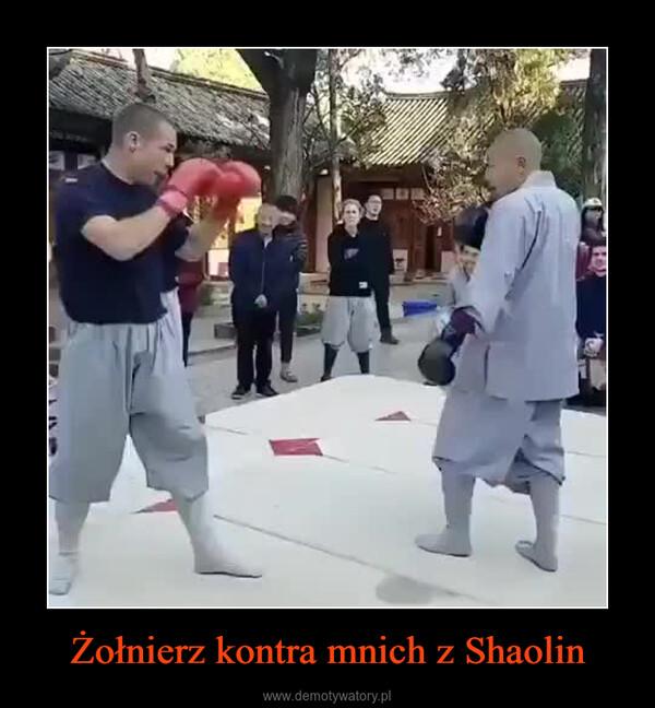 Żołnierz kontra mnich z Shaolin –
